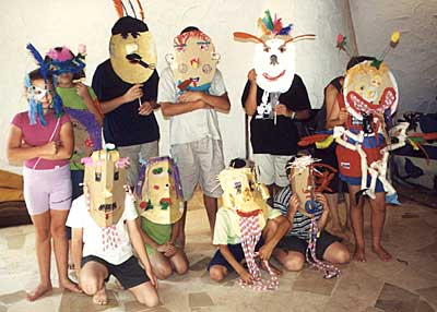 Self-expression through masks
